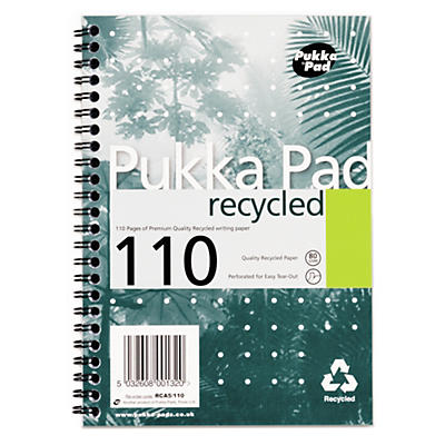 Pukka Pad 80gsm A4 and A5 Notebooks