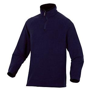 Sous-pull en laine polaire bleu Alma, DeltaPlus, taille M