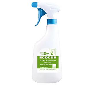 Pulvérisateur vide 630 ml pour Ecocub nettoyant écologique vitres Action Verte