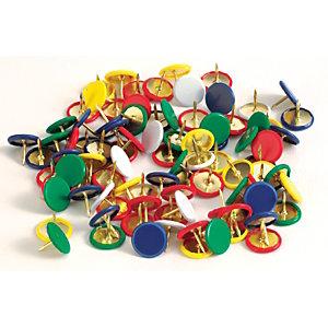 Puntine da disegno, Colori assortiti (confezione 100 pezzi)