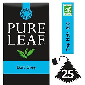 PURE LEAF Thé noir Earl Grey - 25 sachets pyramide