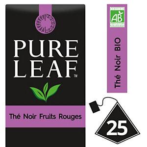 PURE LEAF Thé Noir aux Fruits Rouges - 25 sachets pyramide