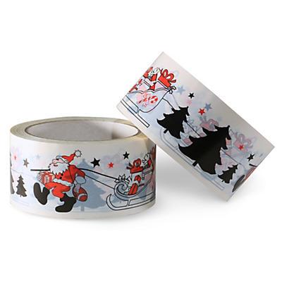 PVC-Packband mit Weihnachtsmotiv