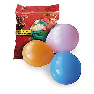 PW INTERNATIONAL Sachet de 100 ballons petit modèle diamètre 25cm
