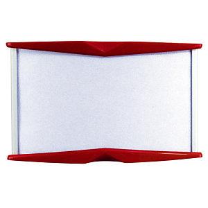 Pyxis wandbordje 55 x 90 mm, rood