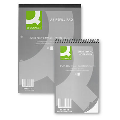 Q-Connect notepads