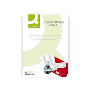 Q CONNECT Papel fotográfico para impresoras inkjet, Blanco Mate A4 220 g/m2