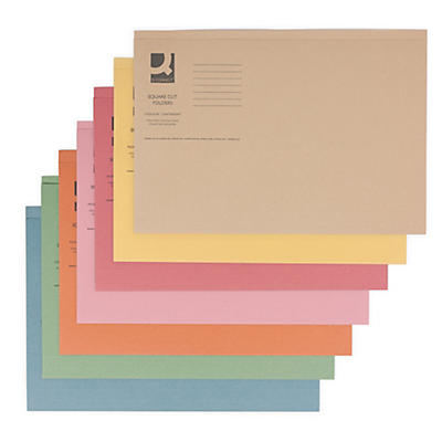 Q-Connect square cut folders