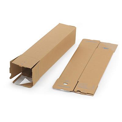 Quattropac - selvklebende firkanthylser