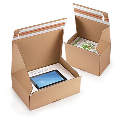 Quick Pack returnable postal boxes