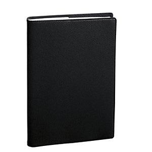 QUO VADIS Agenda Planing® settimanale 2022, Modello Prenote, 21 x 29,7 cm, Copertina Impala, Nero