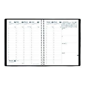 QUO VADIS Agenda semainier IMPALA PRESIDENT à spirale - 21 x 27 cm - 2022