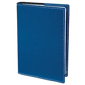 QUO VADIS Agenda semainier PRESIDENT CLUB - 21 x 27 cm - Bleu - Décembre 2021 à Décembre 2022