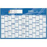 QUO VADIS Calendrier annuel BUDGET - 13 mois sur 1 face - 67,5 x 44 cm - 2021