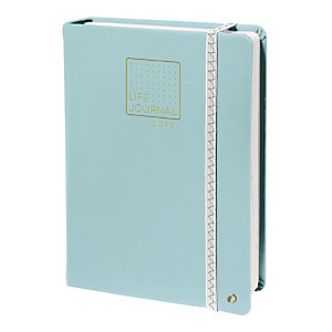 QUO VADIS Life Journal Taccuino con punti, 15 x 21 cm, Verde acqua