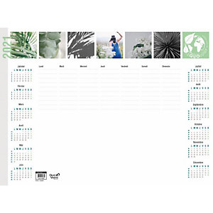 QUO VADIS Sous-mains millésimé Equology - 54 x 40 cm - 2021