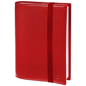 QUO VADIS Time e Life Pocket Agenda 2021, 10 x 15 cm, Rosso Ciliegia