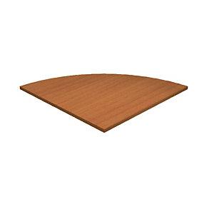 Raccordo angolare a 90 gradi Linea Concept - Dimensioni cm 80 x 80 - Colore ciliegio