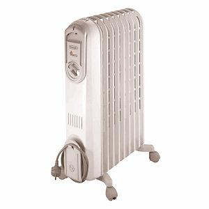 Radiateur bain d'huile Vento 2000W Délonghi blanc
