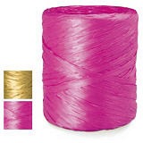 Raffia effect gift ribbon