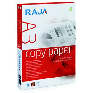 RAJA A3 80 gramos Papel para láser, inyección tinta, fotocopiadoras y fax, blanco