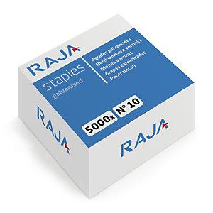 RAJA Agrafes n°10 - Boîte de 5000
