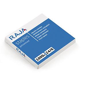 RAJA Agrafes  24/6 - Boîte de 1000