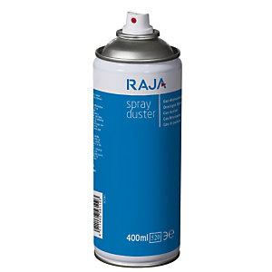 RAJA Aria compressa rimuovi polvere, Infiammabile - HFC Free, Bomboletta da 400 ml