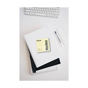 RAJA Blocs de notas autoadhesivas, 76 x 76 mm, 70 gramos, amarillo pastel