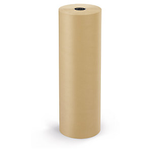 RAJA Bobina papel kraft marrón 72gr 50 cm x 100 m (ancho x largo) 3,8 kg