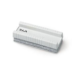 RAJA Borrador de capas desechables de pizarra blanca, plástico, blanco