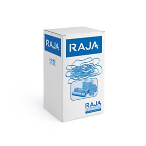 RAJA Bracelet élastique 120 x 10 mm en caoutchouc naturel - Boîte 1 kg