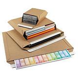 RAJA brown cardboard envelopes with adhesive strip