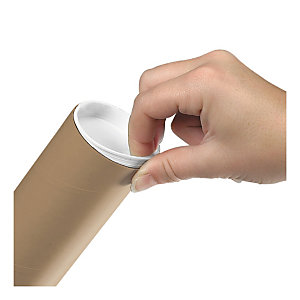 Cardboard postal tubes are simple yet effective way to send long and delicate items
