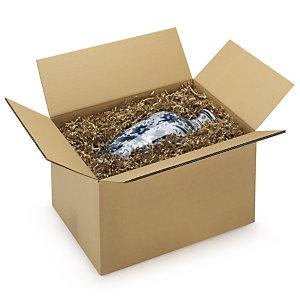 RAJA Caja embalaje canal doble 200 x 140 x 140 mm (largo x ancho x alto)