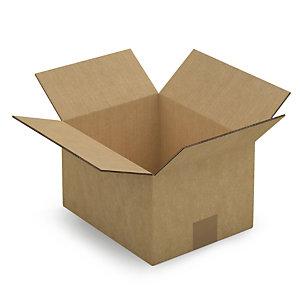 RAJA Caja embalaje canal doble 250 x 200 x 150 mm (largo x ancho x alto)