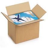 RAJA Caja embalaje canal doble 310 x 220 x 250 mm (largo x ancho x alto)