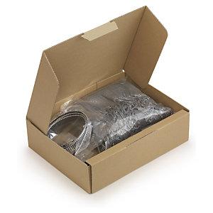 RAJA Caja postal de ancho variable 24,5 (largo) x 6,5 (alto) x 7 / 19 (ancho mínimo / máximo) cm