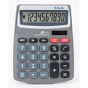 RAJA Calcolatrice da tavolo 540, 10 cifre, Nero