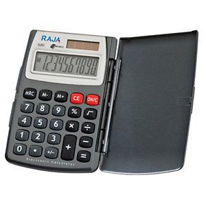 RAJA Calcolatrice tascabile 520, 10 cifre, Grigio