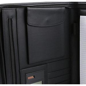 RAJA Carpeta de Congresos Modelo Financial, formato A4, negro