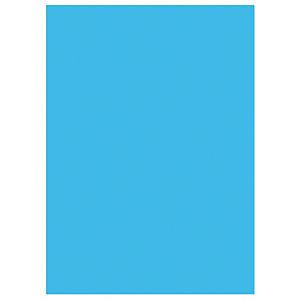 RAJA Chemises dossiers 220g recyclées - 24 x 32 cm - Bleu Foncé