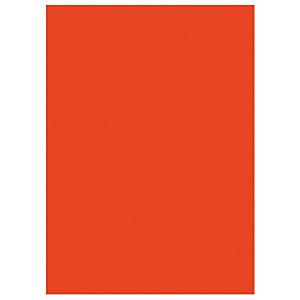 RAJA Chemises dossiers 220g recyclées - 24 x 32 cm - Rouge