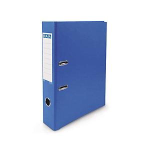 RAJA Classeur à levier A4 Premium en polypropylène - Dos 5 cm - Bleu