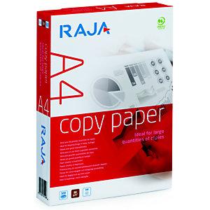 RAJA Copy Papel para Faxes, Fotocopiadoras, Impresoras Láser e Impresoras de Inyección de Tinta Blanco A4 80 g/m²