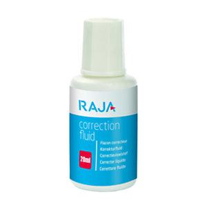 RAJA Correcteur liquide avec pinceau - Flacon de 20 ml
