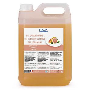 RAJA Crème lavante pour les mains, parfum Pamplemousse - Bidon 5L