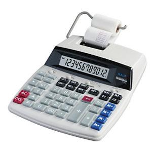 RAJA D69 Calculatrice imprimante 12 chiffres écran LCD
