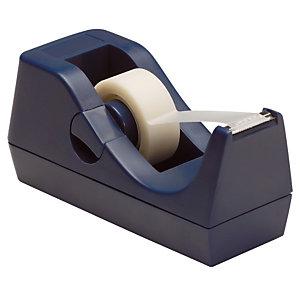 RAJA Dévidoir lesté pour ruban adhésif 19 mm x 33 m - Coloris noir