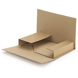 RAJA Estuche de cartón en cruz 240 x 180 mm (largo x ancho)